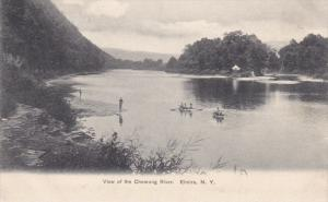 View of the Chemung River, ELMIRA, New York, 00-10s