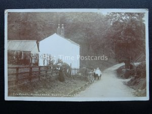 Cheshire Stockport MIDDLEWOOD Tea Rooms c1915 RP Postcard by Roman Series 323