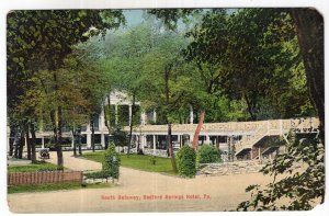Bedford Springs Hotel, Pa, South Gateway