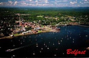 Maine Belfast Aerial VIew