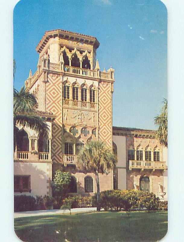 Unused Pre-1980 MUSEUM SCENE Sarasota Florida FL hr0548