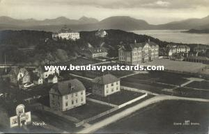 norway norge, NARVIK, Partial View (1910s) RPPC