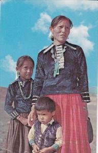 Indian Mother &Children, 50-60s