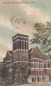 REGINA , Saskatchewan , Canada , 1908 ; New Methodist Church