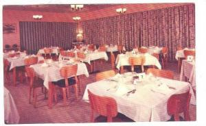 Interior- Salle A Manger Hotel Sept-Iles, Montreal, Quebec, Canada, 1940-1960s