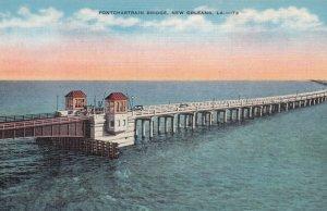 NEW ORLEANS , Louisiana , 1930-40s ; Pontchartrain Bridge