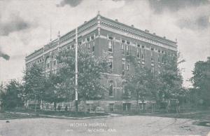 WICHITA, Kansas, 1900-1910´s; Wichita Hospital