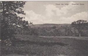 Connecticut Pomfret Over The Hills Albertype