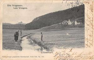 Lutzelhart France Die Vogesen Vosges Mountains Scenic View Postcard J73006