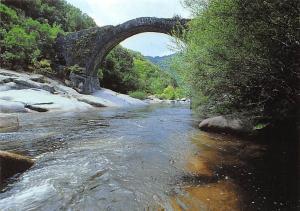 France Souvenir de Corse Pont Genois sur le Taravo, viaduct