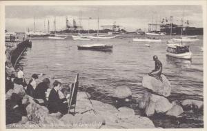 KOBENHAVN, Denmark, 1900-1910's; Den Lille Havfrue, Langelinie