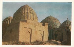 Central Asia UZBEKISTAN Samarqand Shah-i Zindah Mausoleum Amir-Zadah