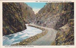 The Narrows Big Thompson Canon Estes Park Rocky Mountain National Park Colorado