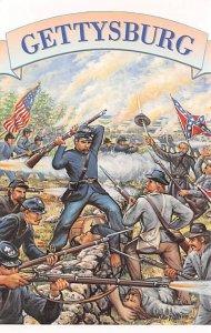 Gettysburg Lee invaded North second time, USA Civil War Unused