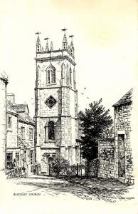 UK - England, Blockley Church