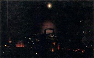 Night Scene of Duluth MN Minnesota Plastichrome Chrome E123 Postcard A1