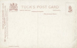 TUCK #9343, 1900-10s; Scottish Life & Character, The Sabbath Hat