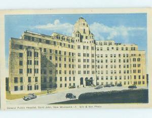 1940's HOSPITAL SCENE St. John New Brunswick NB W3345