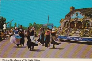 Dutch Folk Dancing At The Dutch Village Holland Michigan