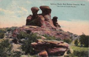 Wyoming Sphinx Rock Red Buttes District