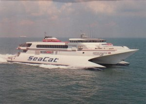 Hoverspeed GREAT BRITIAN , 1990 ; Dover-Calais Route