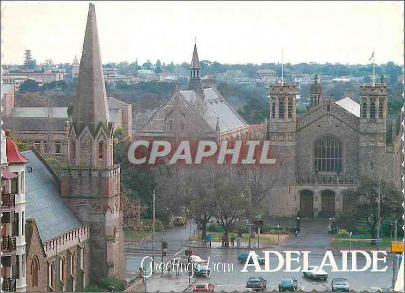 Modern Postcard Adelaide Greetings from Adelaide