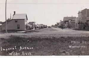 RP, Imperial Avenue, Street View (Dirt), Wilkie, Saskatchewan, Canada, PU-1912