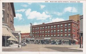 Main & South STreets , KENOSHA , Wisconsin , 00-10s