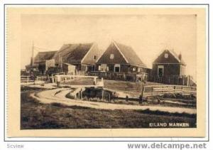 MARKEN, Netherlands, Eiland Marken homes 1910s