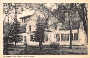 St. Joseph School, Shediac, New Brunswick, Canada, Early Postcard, Unused