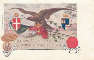 BOLOGNA , Italy , 1900-10s ; Legione Territoriale Carabinierireali