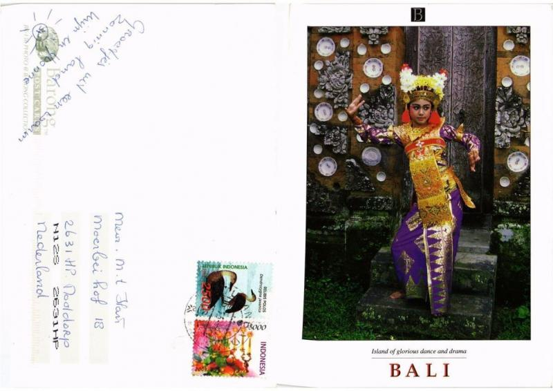 CPM  Indonesie - Bali - Island of Glorious Dance and Drama  (694288)