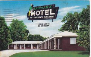 Baynham's Motel , North Augusta , South Carolina , PU-1959