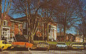 Campus Scene Anderson College Anderson South Carolina