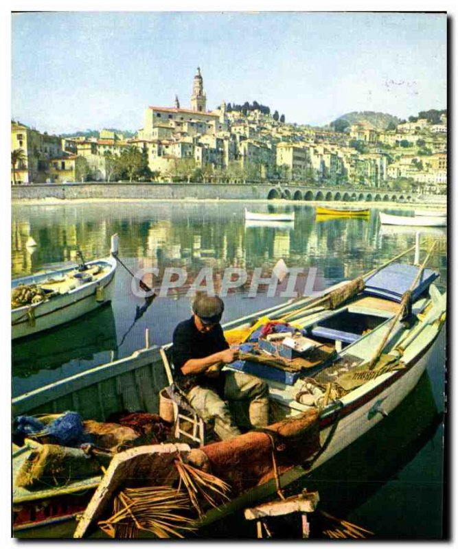 Modern Postcard The French Riviera Miracle of nature Menton Alpes Maritimes O...