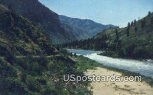 Kenney Creek Rapids - Hells Canyon, Idaho ID
