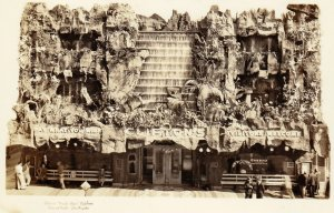 RP: LOS ANGELES, California, 1930-50s; Clifton's Pacific Seas Cafeteria, Ol...