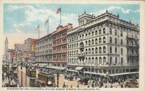 PHILADELPHIA, Pennsylvania, 1921; Strawbridge & Clothier's, 8th and Market Sts.