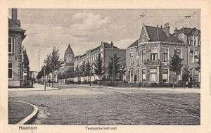 Haarlem Netherlands Temperliersstrat Historic Bldgs Antique Postcard K24323