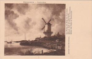 Netherlands Amsterdam Mill at Wijk bij Duurstede Jacob Van Ruysdael Rijksmuseum