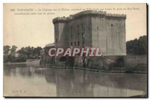 Old Postcard Tarascon Chateau on the Rhone built in the fifteenth century by ...