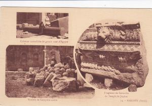 3 Views: Ruins of Baalbek, Beqaa Valley, Syrie, Lebanon 00-10s