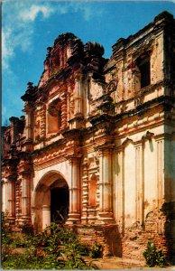Antigua Guatemala San Jose Church Postcard unused 1960s