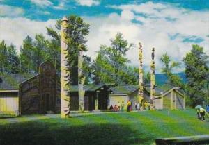 Canada British Columbia Hazleton Indian Village & Totem Poles