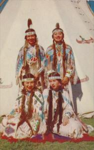 Four Native Indian Maids