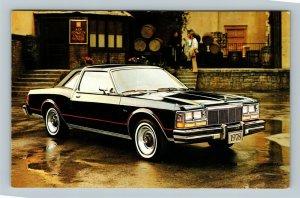 Automobile - 1978 Dodge Diplomat Medallion 2-Door Hardtop Black Chrome Postcard