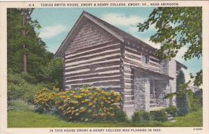 Tobias Smyth House Emory & Henry College Emory Virginia