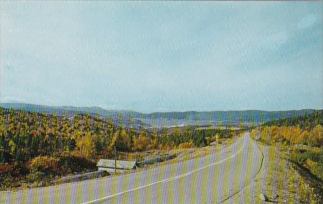 Canada Panoramic View Of Bay Of Islands and City Of Corner Brook Newfoundland