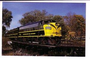 Waterloo St Jacobs Railway, Train at Silver Creek, Ontario,