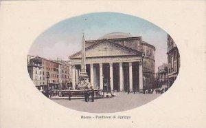 Italy Roma Rome Pantheon di Agrippa